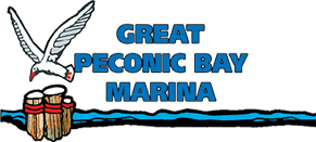 Great peconic bay marina logo