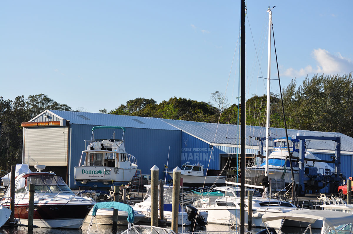 boat storage in Long Island